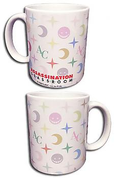 Assassination Classroom Mug - Koro Sensei Face Monogram