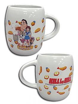 Kill La Kill Mug - Mankanshoku Family w/ Food