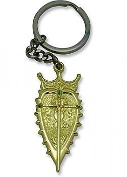 Gankutsuou Key Chain - Metal Crest