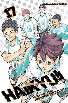 Haikyu!! Manga Vol. 17