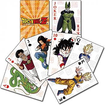 Dragon Ball Z Playing Cards - Cell Saga