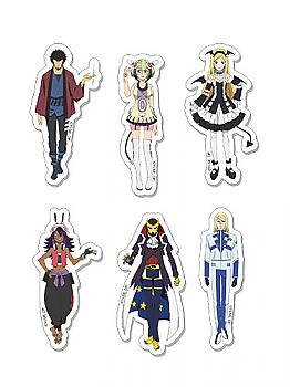 Dimension W Sticker - Characters Set