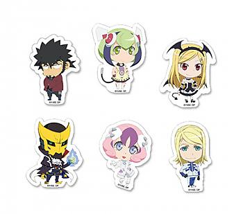 Dimension W Sticker - SD Characters Set
