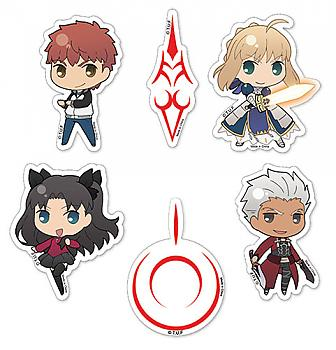 Fate/Stay Night Sticker - SD Character Set
