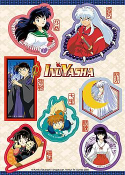 InuYasha Sticker - Character Set