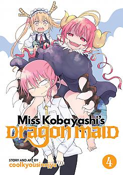 Miss Kobayashi's Dragon Maid Manga Vol. 4