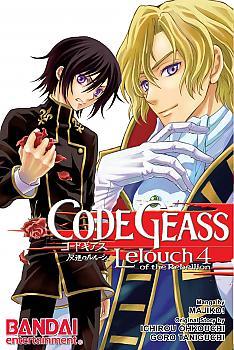 Code Geass: Lelouch of the Rebellion Manga Vol. 4