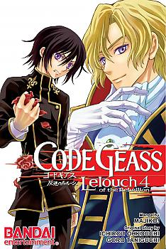 Code Geass: Lelouch of the Rebellion Manga Vol. 4