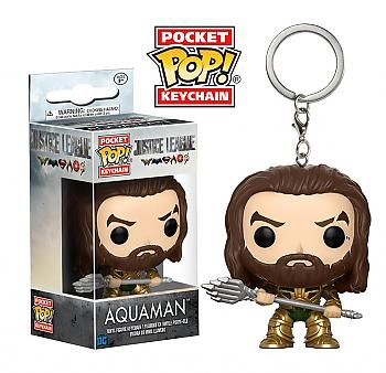 Justice League Movie Pocket POP! Key Chain - Aquaman