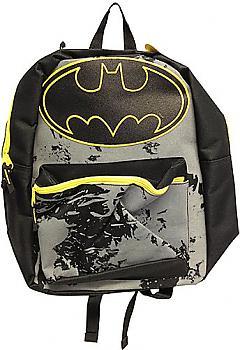Batman Backpack - Logo Splash Cape and Hood