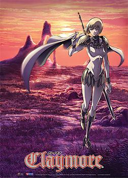 Claymore Wall Scroll - Clare Landscape Scenery
