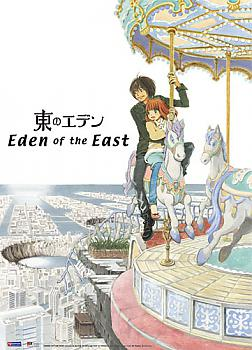 Eden of the East Wall Scroll - Merry Go Round
