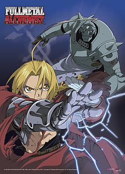 FullMetal Alchemist Wall Scroll - Ed and Al Transmutation Battle