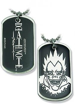 Death Note Necklace - Dog Tag Ryuk