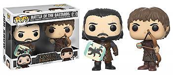 Game of Thrones POP! Vinyl Figure - Jon Stark Vs. Ramsay Boltron (2-Pack) (Battle of the Bastards)