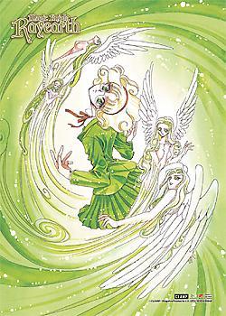 Magic Knight Rayearth Fabric Poster - Hououji Fuu