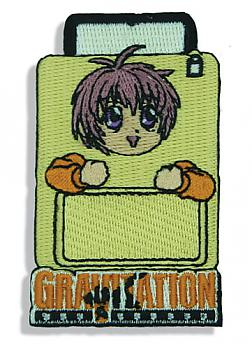 Gravitation Patch - Suitcase Embroidery