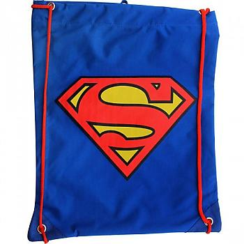 Superman Backpack - S Shield Drawstring