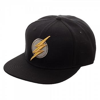 Justice League Movie Cap - Flash Icon Core Line Embroidered Snapback