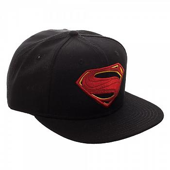 Justice League Movie Cap - Superman Icon Core Line Embroidered Snapback