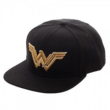 Justice League Movie Cap - Wonder Woman Icon Core Line Embroidered Snapback
