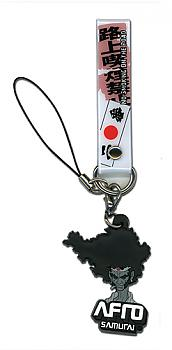 Afro Samurai Phone Charm - Afro