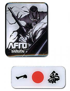 Afro Samurai Pins - Justice and Ichiban (Set of 2)