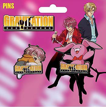 Gravitation Pins - Shuichi and Kumagoro (Set of 2)