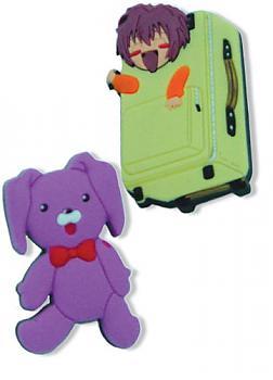 Gravitation Pins - Suitcase and Kumagoro (Set of 2)