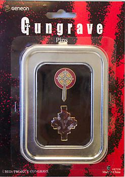 Gungrave Pins - Cross and Graves (Set of 2)