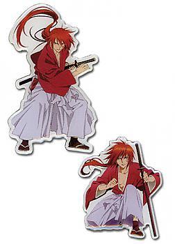Kenshin Pins - Kenshin Action (Set of 2)