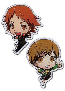 Persona 4 Pins - SD Yosuke & Chie (Set of 2)
