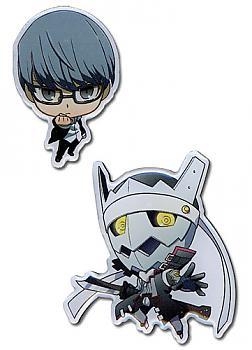 Persona 4 Pins - SD Yu & Izanagi (Set of 2)