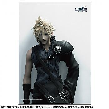 Final Fantasy Advent Children Wall Scroll - Cloud Strife Ver. 2
