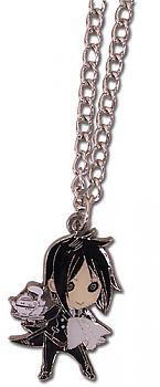 Black Butler Necklace - Chibi Sebastian Metal