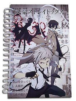Bungo Stray Dogs Notebook - Atushi, Osamu & Ryunosuke Hardcover