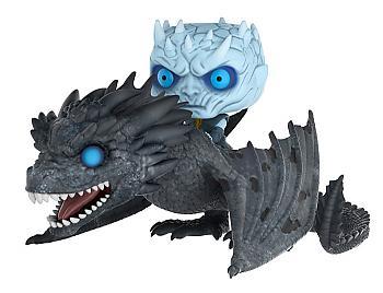 Game of Thrones POP! Rides Vinyl Figure - Night King & Viseron Wight