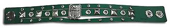 Attack on Titan Bracelet - Scout Regiment PU