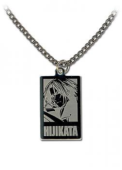 Hakuoki 2nd Necklace - Hijikata Metal Portrait