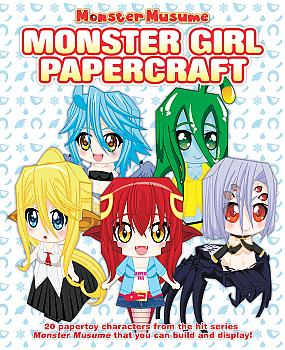 Monster Musume Activity Book - Monster Girl Papercrafts
