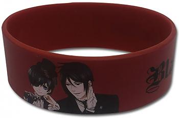 Black Butler 2 Wristband - Ciel & Sebastian