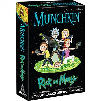 Munchkin Card Game - Rick and Morty