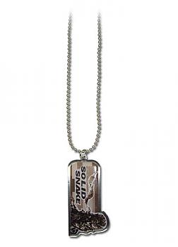 Metal Gear Solid Necklace - Solid Snake