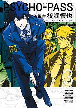 Psycho Pass: Inspector Shinya Kogami Manga Vol. 3