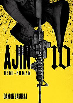 Ajin Manga Vol. 10 - Demi-Human