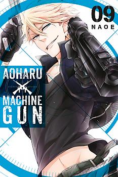 Aoharu X Machinegun Manga Vol. 9