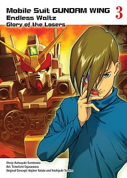 Gundam Wing Manga Vol. 3 - The Glory of Losers
