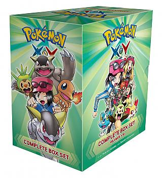 Pokemon XY: Complete Box Set Manga Vol. 1-12