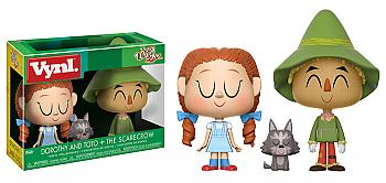 Wizard of Oz Vynl. Figure - Dorothy & Scarecrow (2-Pack)