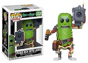 Rick and Morty POP! Vinyl Figure - Pickle Rick w/ Laser